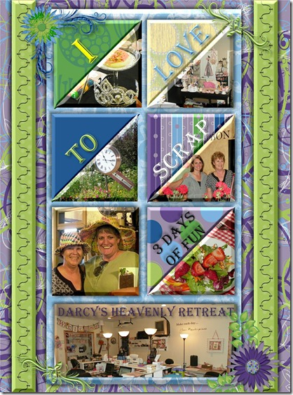 RETREAT DAYS DONE IN STORYBOOK CREATOR BY BARBARA MILNE