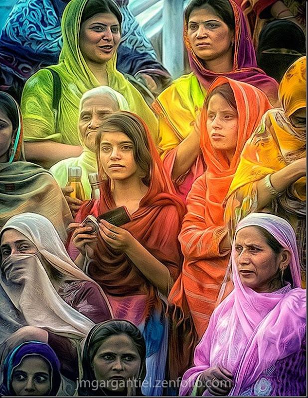 Femmes Pakistanaises, de sortie...