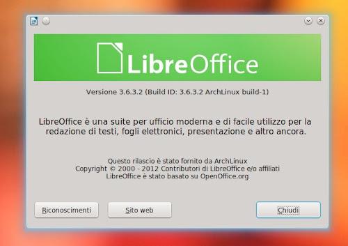 LibreOffice 3.6.3