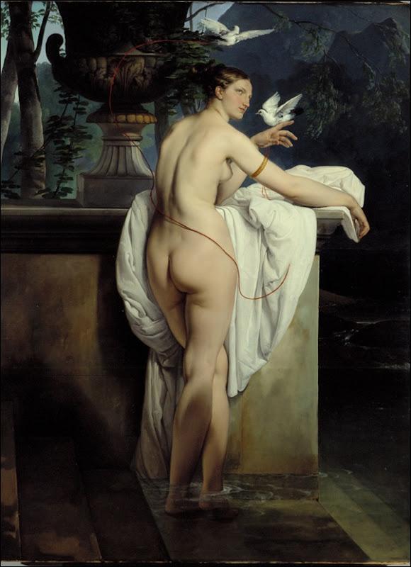 Hayez, Vénus aux deux colombes