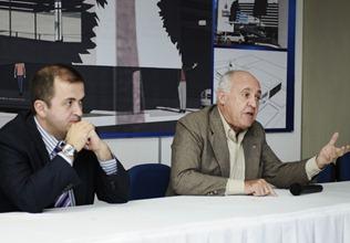 Engenheiro portugus Lus Silva faz palestra a convite da SEEL - Joacy Bastos - Elisa Elsie