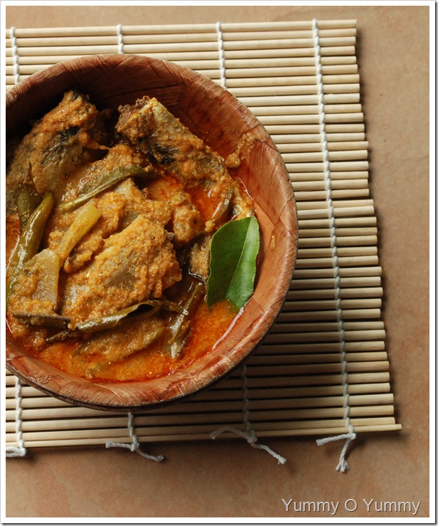 Canned Sardine and Mango Curry