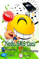 Screenshot of nada sms lucu