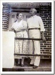 Mama Chavito y Papa Gelo