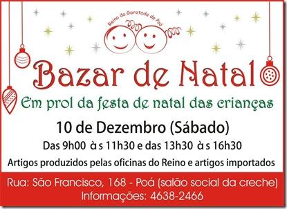 Reino da Garotada de Poá - Bazar de Natal 2012