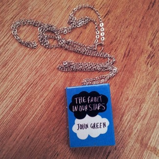 The Fault in Our Stars Locket by Junk Studio