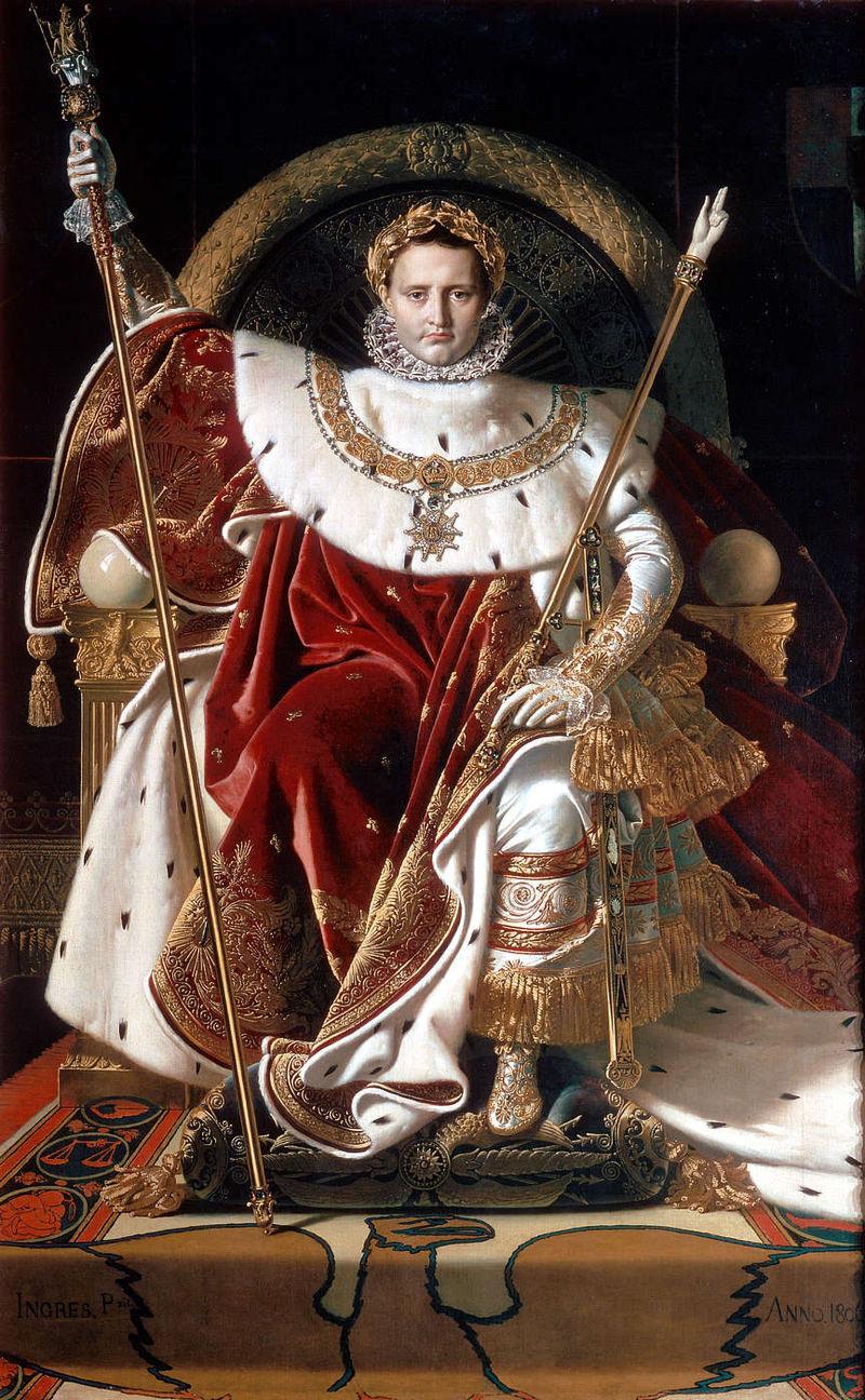 800px Ingres Napoleon on his Imperial throne