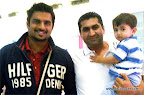 Reader Nagaraj Prabhu's friend Mohammad Yousef and his son Mohammad Ibrahim met R Madhavan at Dubai Mall, Dubai.