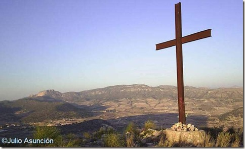 Panorámica desde la cima de la sierra de la Cruz