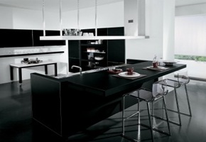 18 cocinas modernas nuevas tendencias en dise o interior for Cocinas integrales negras