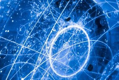 ilustração do sumiço dos neutrinos