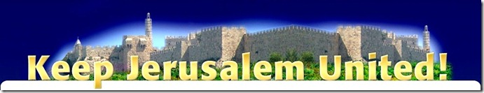 Keep Jerusalem United