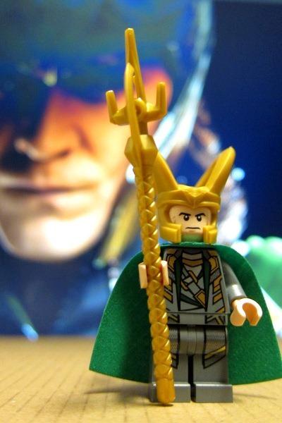 Loki Avengers Minifig Lego
