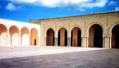 Courtyard of the Great Mosque of Mahdiya, 916.