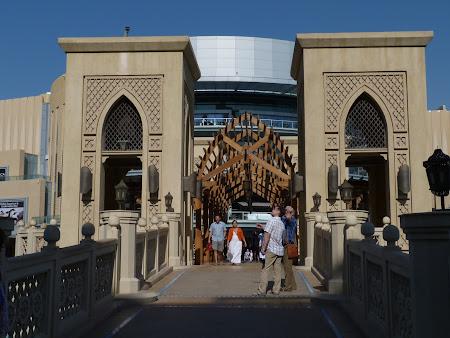 Obiective turistice Dubai: intrare Dubai Mall