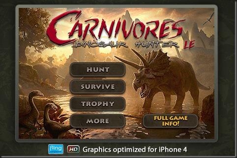Carnivores: Dinosaur Hunter LE