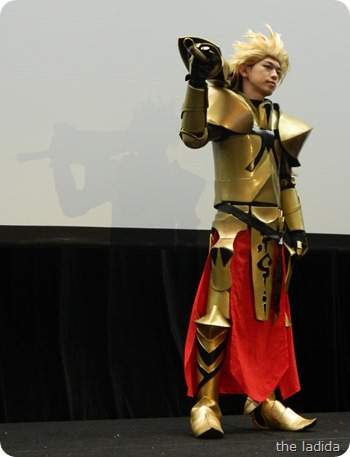 EB Expo Just 'Cos Cosplay Competition - Gilgamesh from Fate Unlimited Code