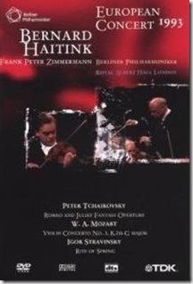 Stravinsky Consagracion Haitink Berlin
