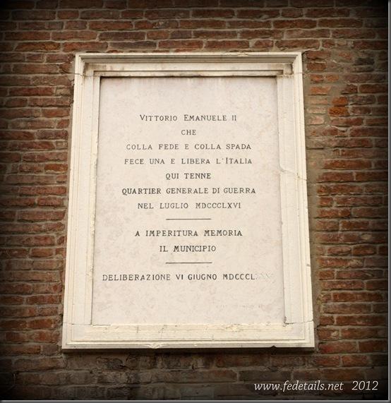 Palazzo Strozzi Sacrati ( targa 1 ), Ferrara, Emilia romagna, Italia - Palace Strozzi Sacrati ( plate 1 ), Ferrara, Emilia Romagna, Italy - Property and Copyrights of www.fedetails.net
