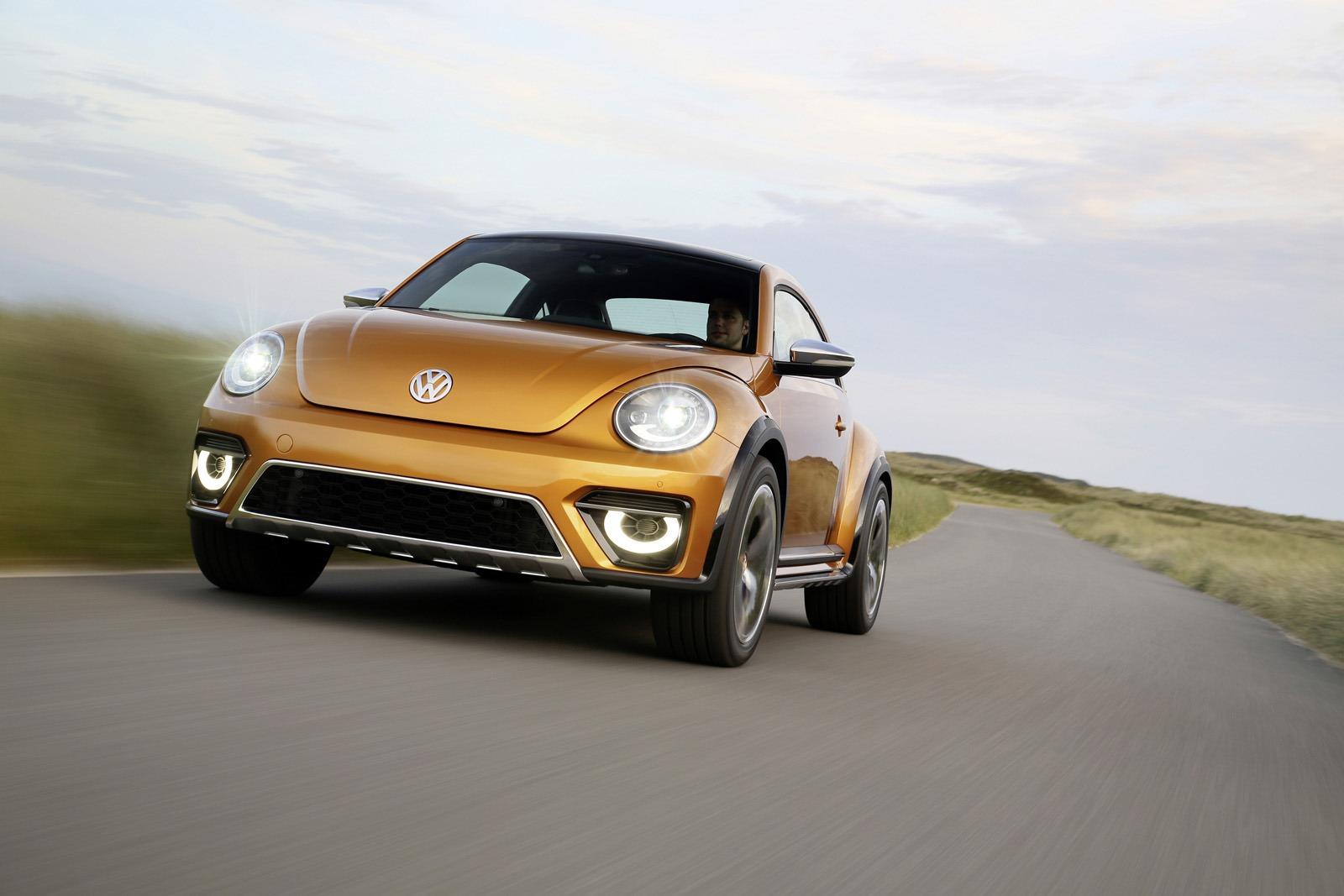 Прототип 2014 года VW Beetle Dune