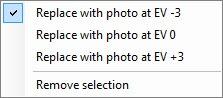Photomatix_4_2_3_SelectionModeMenu
