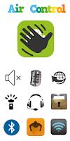 Screenshot of Air Gesture Control