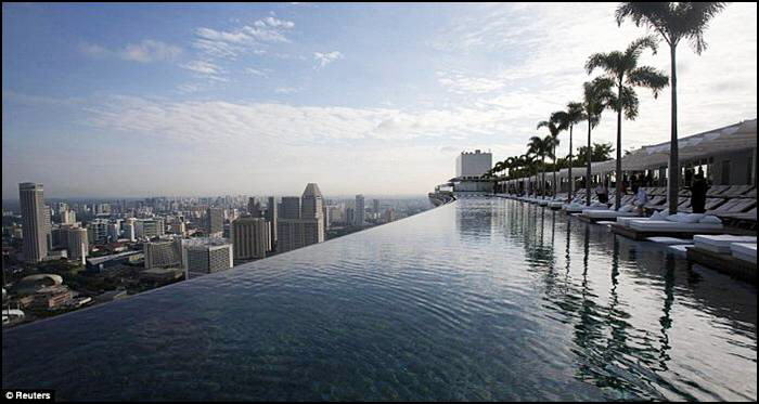 Sky Park in Singapore at Marina Bay Sands