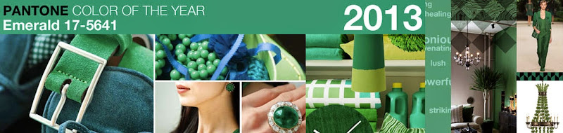 Imagen Pantone: Color of the year EMERALD