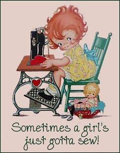 girl gotta sew