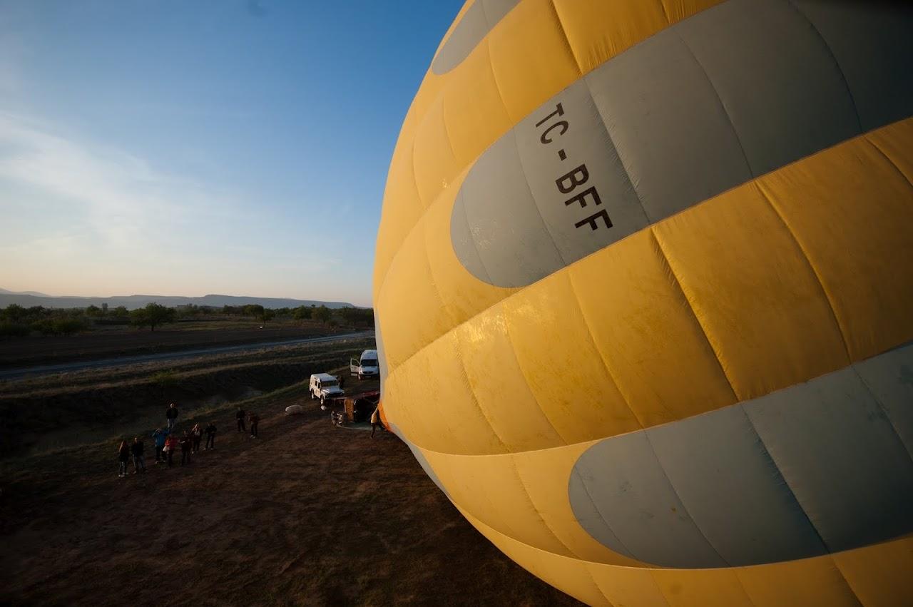 Hot air balooning Cappadocia