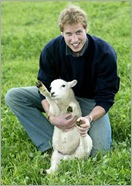 Prince William and Lamb of God