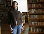 Entrevista con Trixia Valle en la libreria Porrua. 13 de Mayo de 2009. Foto:Miriam Sanchez