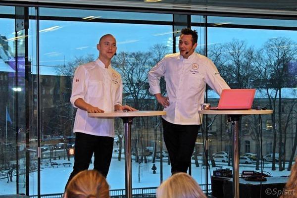 Klas Lindberg Årets Kock 2012 och Tom Sjöstedt Årets Kock 2008  - Årets Kock 2013 (C) Spisat.se