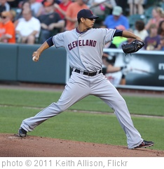'Cleveland Indians starting pitcher Carlos Carrasco (59)' photo (c) 2011, Keith Allison - license: http://creativecommons.org/licenses/by-sa/2.0/