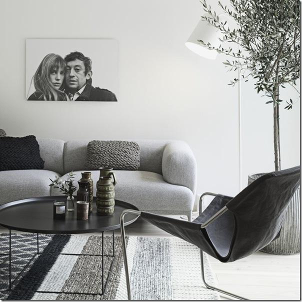 case e interni - stile minimal contemporaneo - grigio - legno decapato (1)