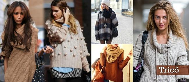 maxi trico la casacos para inverno 2012