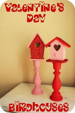 valentines day birdhouses