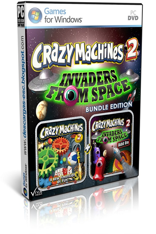 Crazy Machines 2 Invaders from Space Bundle Edition-TiNYiSO