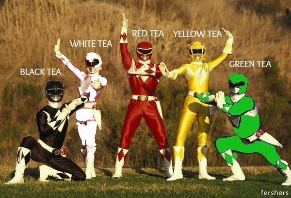 mighty morphin power teas