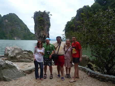 Turisti romani la James Bond Island