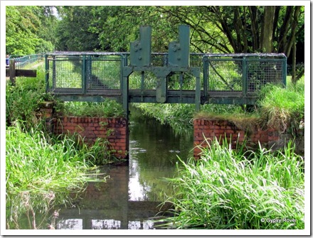 The water feeder for the Manchester, Bolton & Bury canal.
