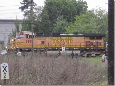 IMG_6312 BNSF C44-9W #5387 at Peninsula Jct May 12, 2007