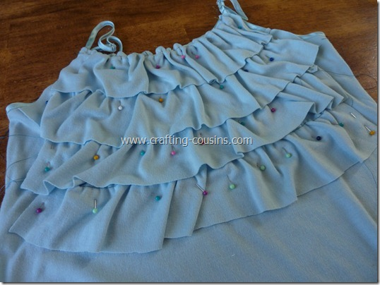 Crafty Cousins' ruffle tank tutorial (7)