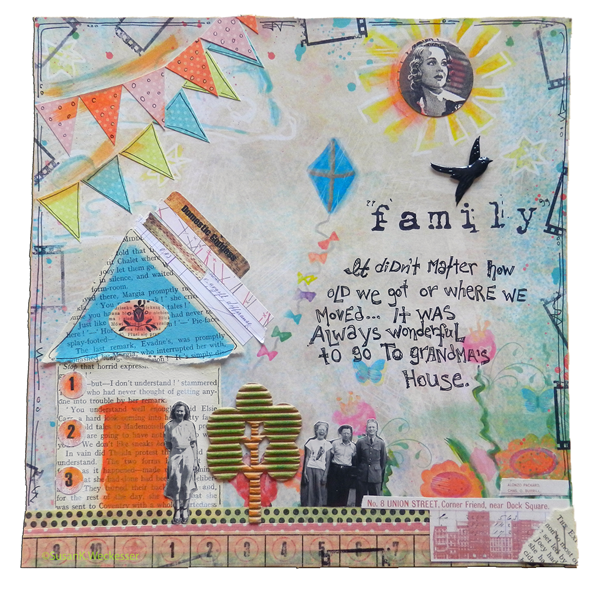 Mixed Media Blog Hop CK SKWeckesser