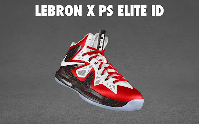nike lebron 10 ps elite id options preview 1 14 NIKE LEBRON X PS ELITE Coming to Nike iD on April 23rd