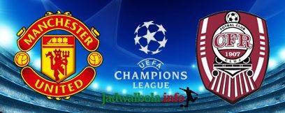 Prediksi Manchester United vs CFR Cluj Liga Champions