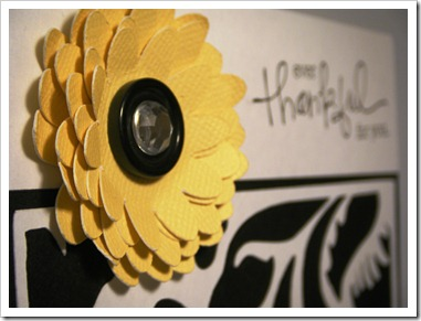 bw yellow flower card 2