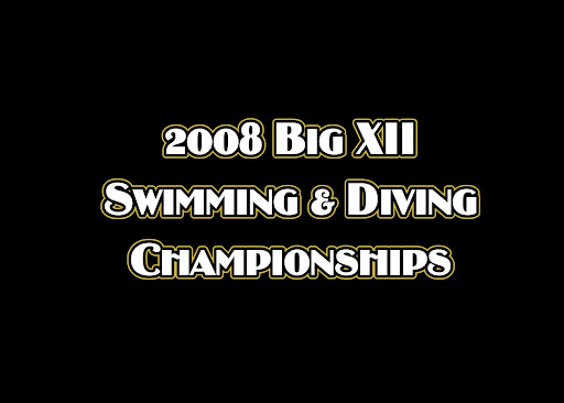 big  xii swimming
