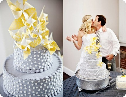 wedding cake pinwheel