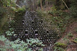 別の石積みの砂防ダム